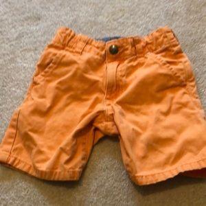 Gymboree prep fit orange shorts size 2t